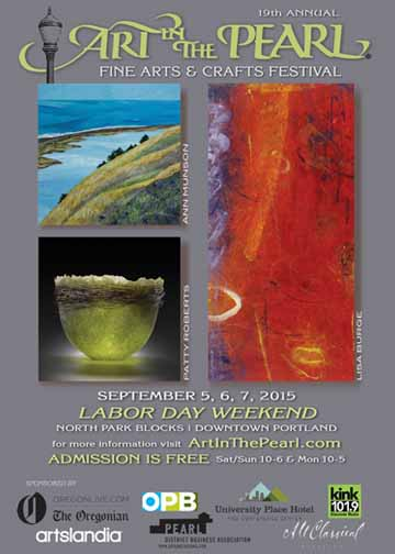 Art In The Pearl Fine Arts & Crafts Festival Labor Day Weekend in Portland's North Park Blocks